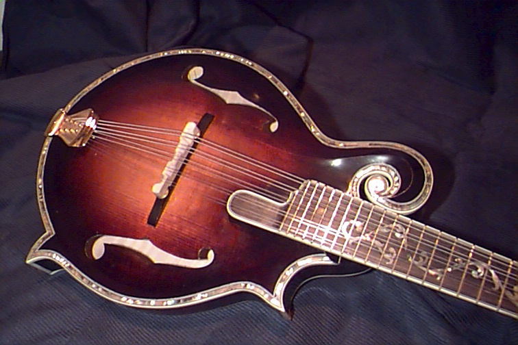 ENDORSED ROSA MANDOLIN-FRONT VIEW